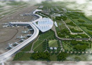烟台机场二期工程建筑规划设计方案敲定