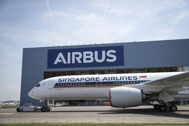 民航早报:新航首架A350-900ULR完成涂装