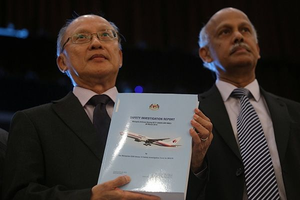 MH370调查组承认最新报告有未公开内容