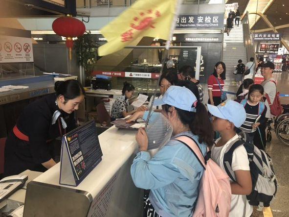 东航云南热情服务儿童团队获赞誉