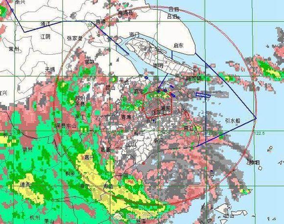 """台风紧急预报   """"云雀""""最大风力已达10级"""