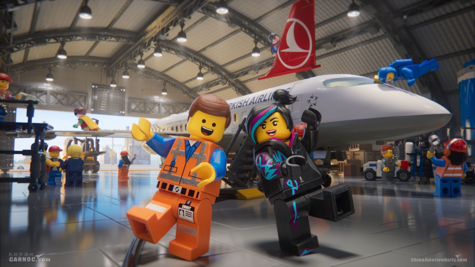 携手《乐高大电影》土耳其航空推出全新安全视频