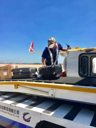 常州机场:致敬高温下的民航人