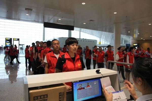 长春机场举行T2启用第一次综合演练