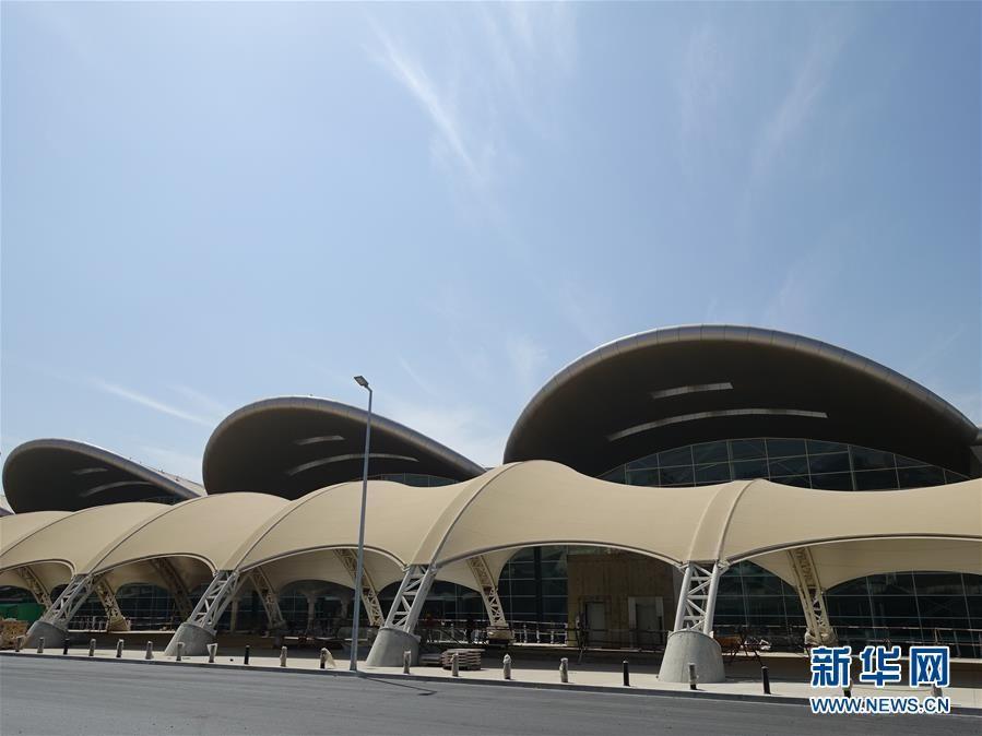 中国企业承建阿尔及尔新机场即将完工交付