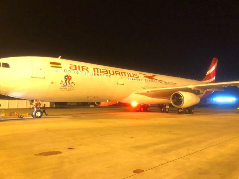 直飞毛里求斯首航 武汉国际航线达到59条