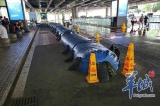 """备战台风""""贝碧嘉"""":珠海机场取消部分航班"""