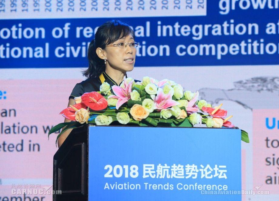 中国民航科学技术研究院运输所副所长邵凤茹