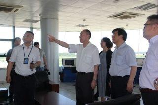 民航华东局调研组到镇江大路通用机场调研指导