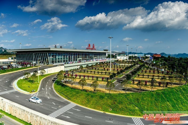 兴义万峰林机场T2正式启用