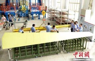 哈飞首次向中国商飞交付垂尾大部件