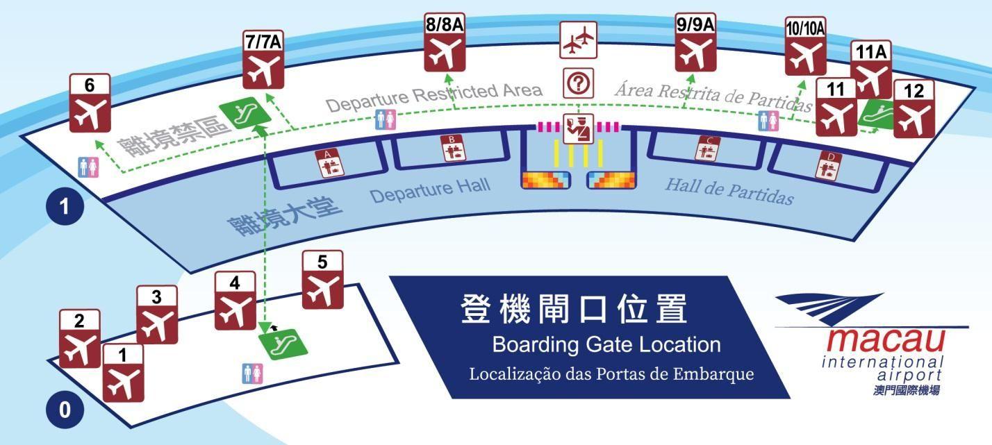 澳门国际机场新登机闸口启用