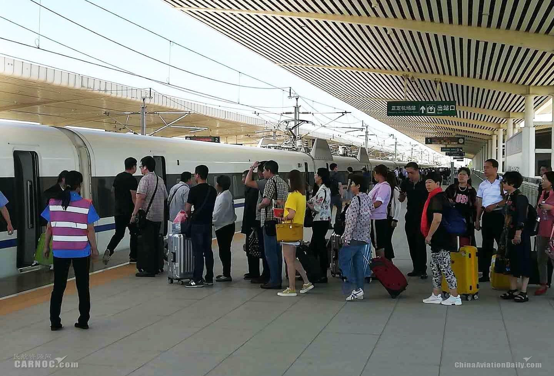 石家庄机场空铁联运客流量超过去年全年