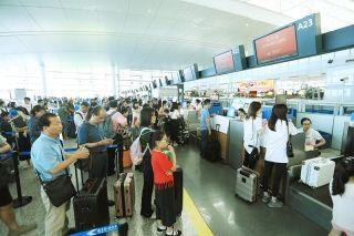暑运返程高峰:南京禄口机场客流量连创新高