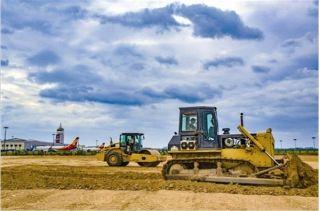 三峡机场扩建项目加紧施工