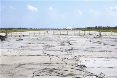 扬泰机场跑道延至3200米 年底投入使用