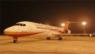 成都航空接第六架ARJ21飞机 机队规模达38架