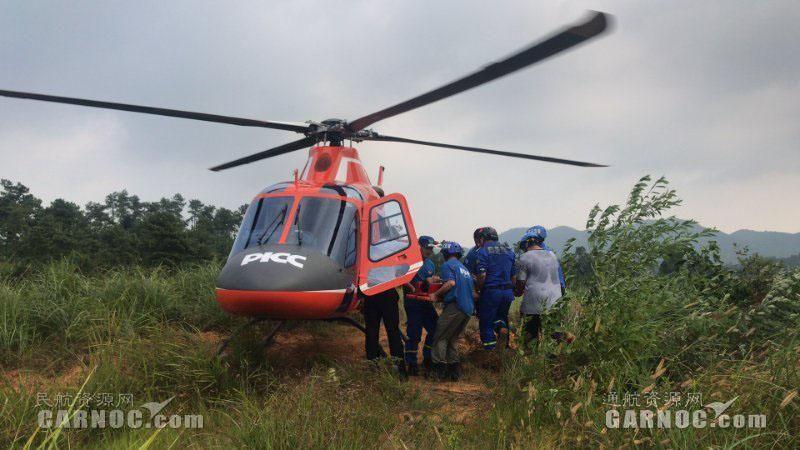 十万火急 救援直升机急赴新余抢救毒蛇咬伤患者|新闻动态-飞翔通航(北京)服务有限责任公司