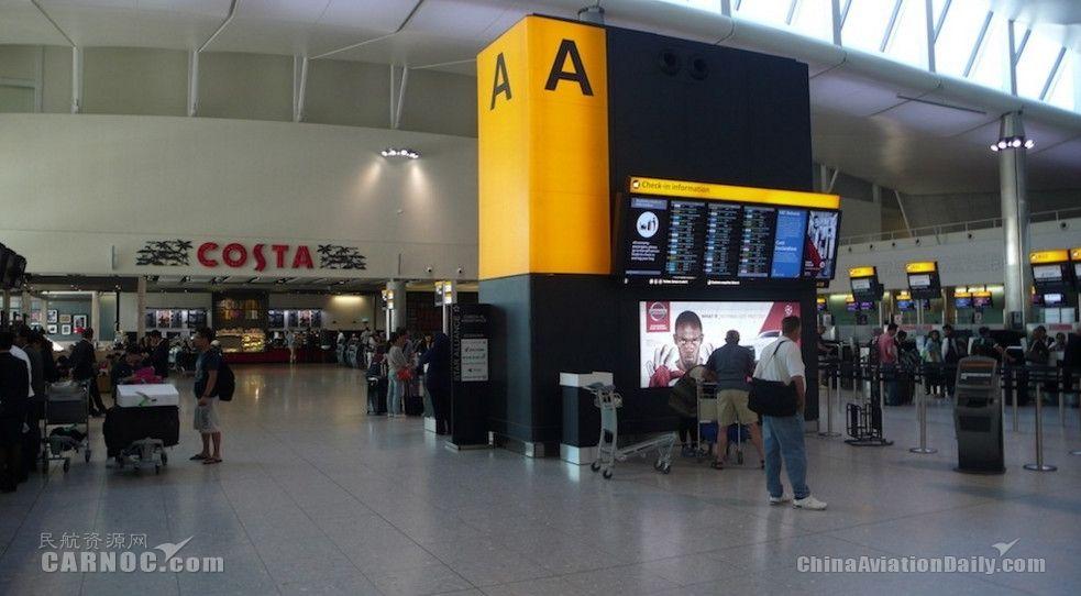 欧洲最繁忙机场排名出炉 希思罗依旧第一
