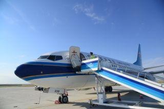 富蕴机场暑运期间保障各类飞行9396架次