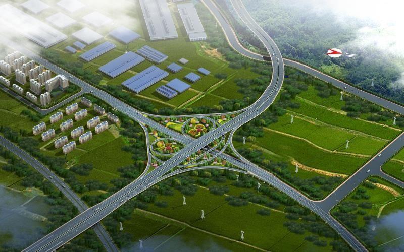 宜宾新机场东连接线工程 临时设施建设即将完成