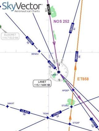 生死分速!两架客机在高空差点相撞