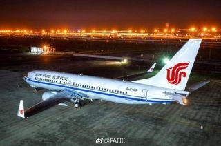 北京航空首架飞机完成喷漆