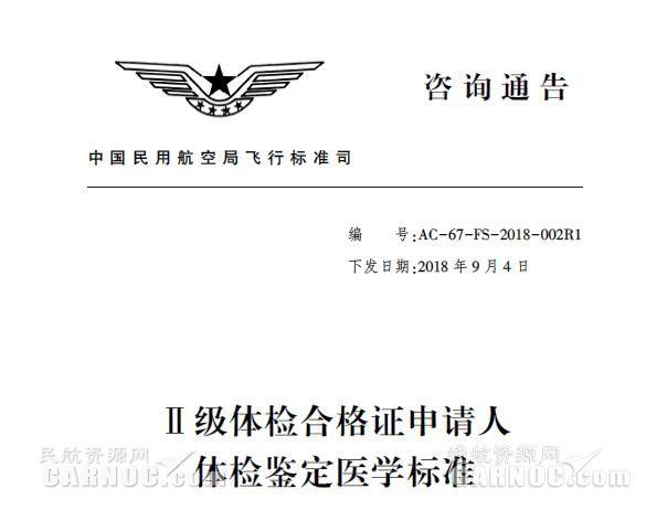 利好|新版私用飞行驾驶员体检鉴定标准获批实施
