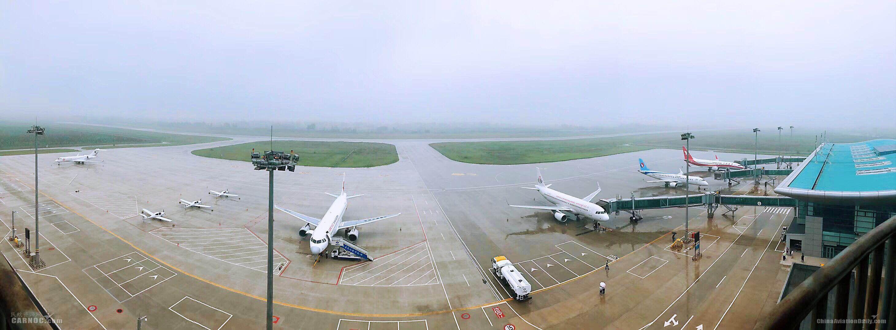 秦皇島機場旅客吞吐量突破41.5萬人次,超去年全年水平