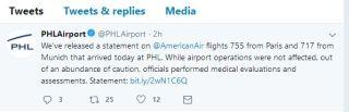 民航早报:美航俩国际航班再报乘客流感事件