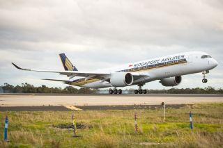 新航A350-900将首秀新加坡—阿德莱德航线