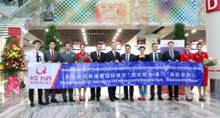 柬埔寨国际航空开通西哈努克至澳门新航线
