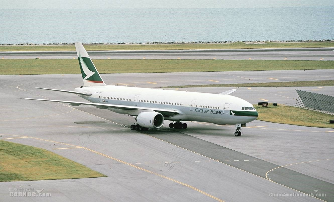 波音与国泰航空宣布捐赠全球首架777飞机