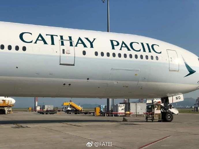 喊话Cathay Pacific,你家的F丢啦!