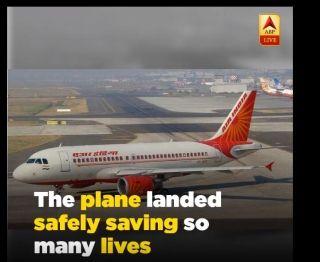 印度航空客机遭遇着陆系统故障后安全备降
