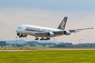 杭州机场首次接收A380备降航班