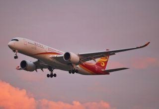 香港航空启用A350机型执飞京港线