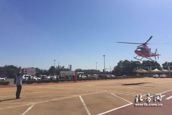 天津直升机巡航高速路 构建空地一体救援体系