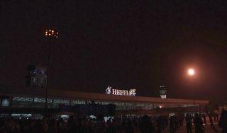 随着机坪上各类灯光的渐次熄灭,运行了36年的合肥骆岗机场永久关闭。