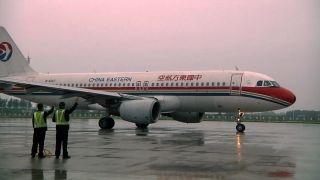 2013年5月30日七点四十五分,飞往浦东的MU5468次航班成为新桥机场第一个出港航班。