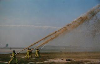 1997年,应急救援综合演练