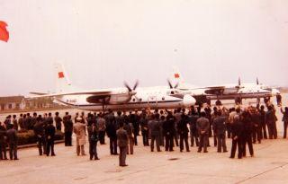 运-7飞机承载着中国民航人自主创新、自强不息的事业精神,顺利载客首航