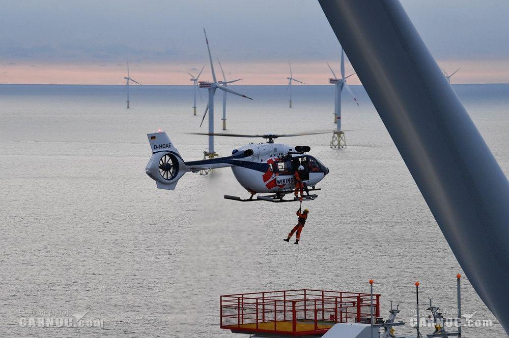 空中客车直升机关注风力发电市场增长