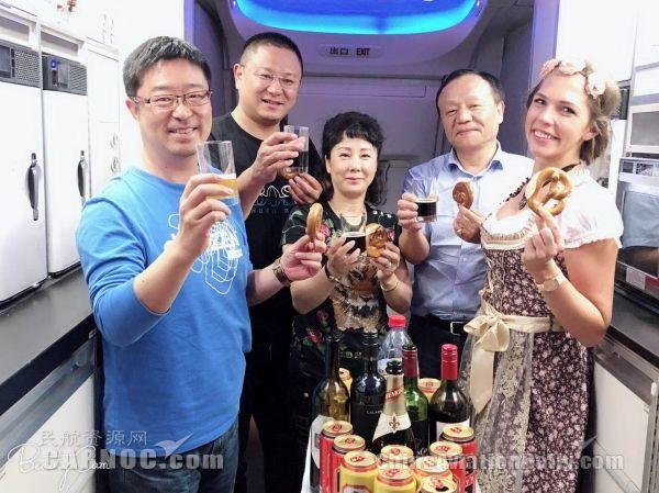 东航机上德国美食节:九月限定,一起来嗨啤!