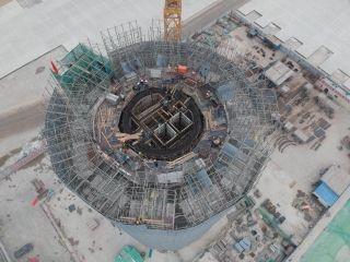 北京大兴国际机场西塔台工程进入冲刺攻坚阶段