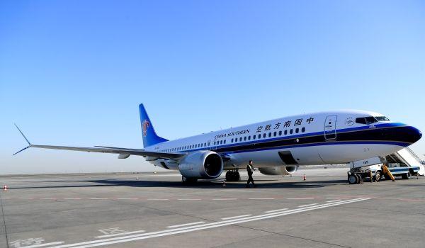 南航新疆分公�9�n�i�_投入国庆保障 南航新疆引进第8架波音737max
