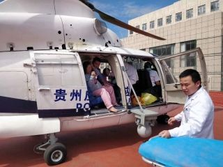 國慶前夕,中國飛龍兩度空中救援接送病患
