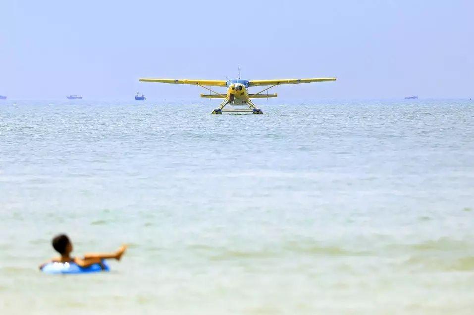 广西第一架水上飞机成功在银滩成功首飞|新闻动态-飞翔通航(北京)服务有限责任公司