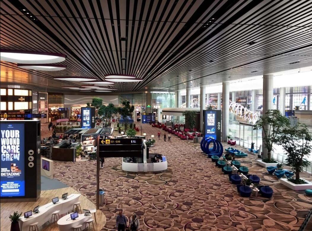 新加坡樟宜机场2030年开始运营第五个航站楼