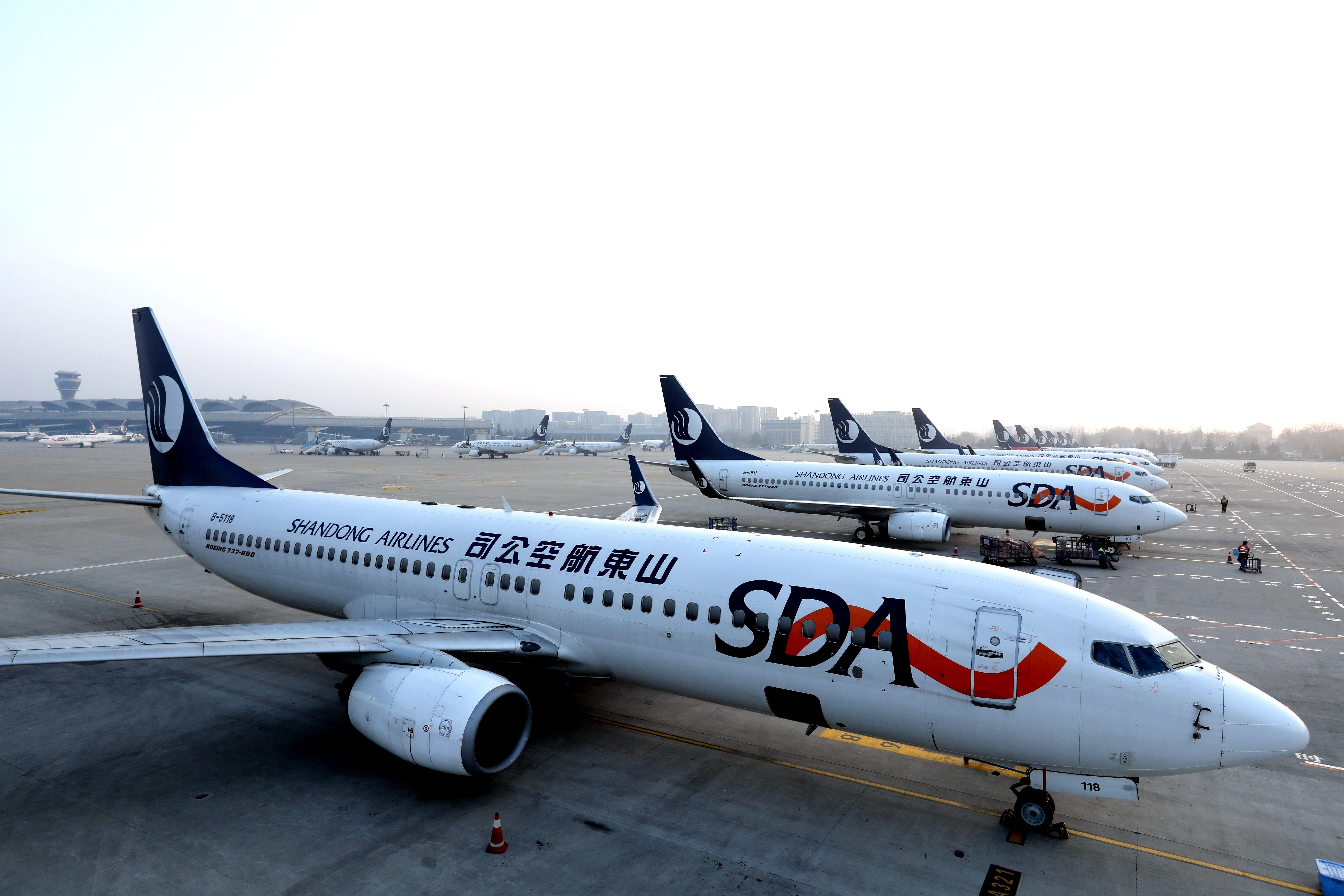山航在大连机场首次实施公共RNP AR运行